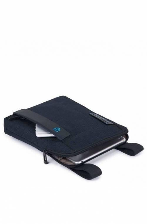 PIQUADRO Bag P16 Male Pocketbook Blue - CA1358P16-CHEVBLU