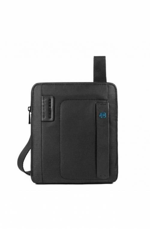 PIQUADRO Bag P16 Male Pocketbook chevron/Black - CA1358P16-CHEVN