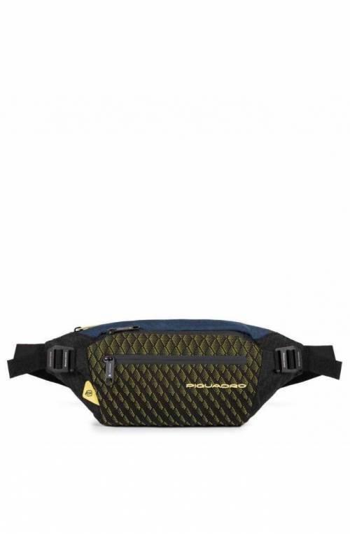 PIQUADRO Bag PQ-Y Male The saddle Blue-Yellow - CA5118PQY-BLG