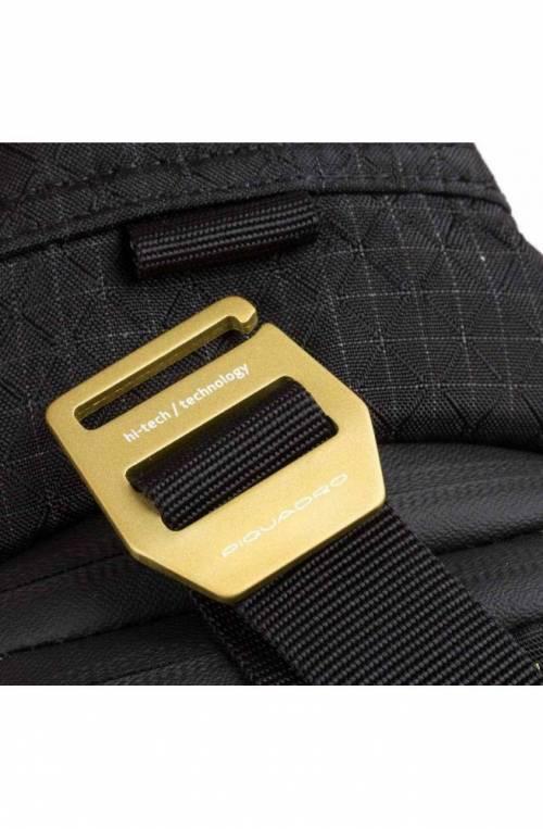 PIQUADRO Bag PQ-Y Male Mono sling Black - CA5117PQY-N