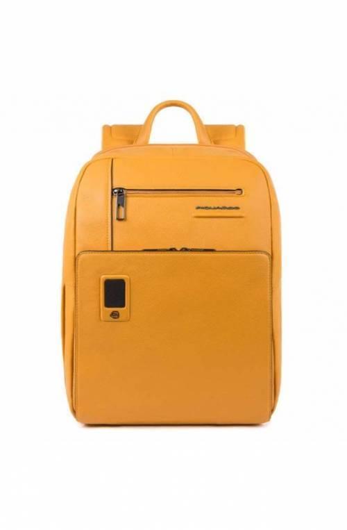 PIQUADRO Backpack Akron Male yellow customizable - CA3214AO-G