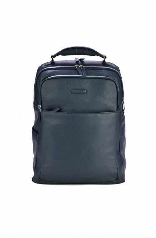 PIQUADRO Backpack Modus Male Leather Blue OUTCA4174MO-BLU