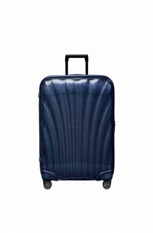 Trolley SAMSONITE C-LITE Blu Spinner (4 Ruote) - CS2-31004