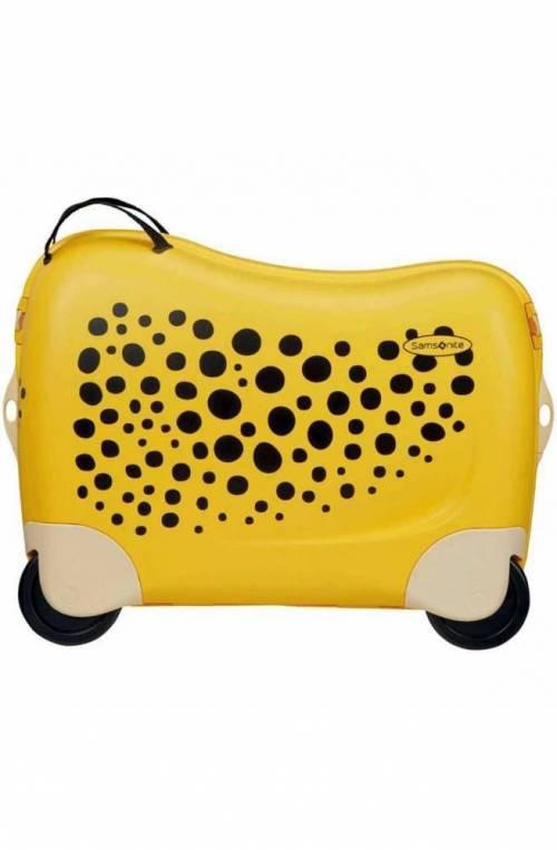 Trolley SAMSONITE DREAM RIDER Giallo Junior Ghepardo - CK8-26001