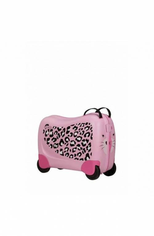 Trolley SAMSONITE DREAM RIDER Rosa Junior Leopardo - CK8-90001