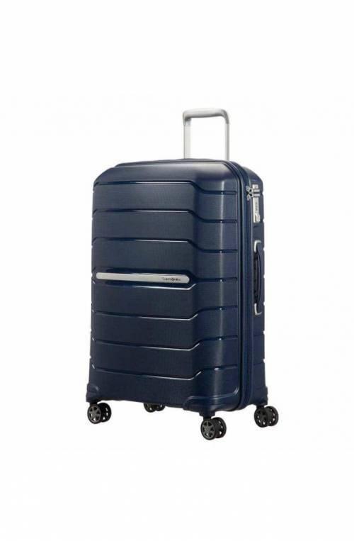 SAMSONITE Trolley Flux Azul Spinner (4 ruedas) - CB0-41002