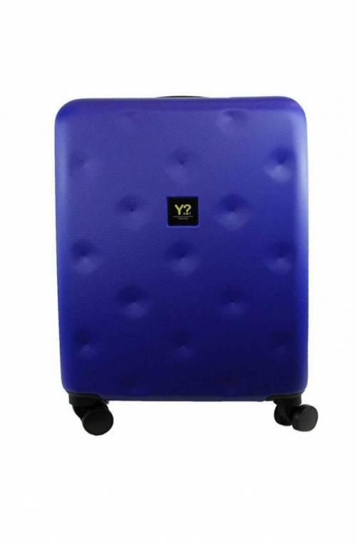 Trolley YNOT ROMBO Blu TSA lock + USB PLUG Unisex - ROM-12001S0-MIDBLUE