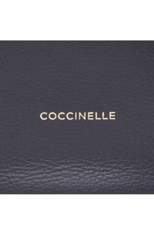 COCCINELLE Bag DIANA GRANA DOUBLE Female Leather Black - E1HHA110101723