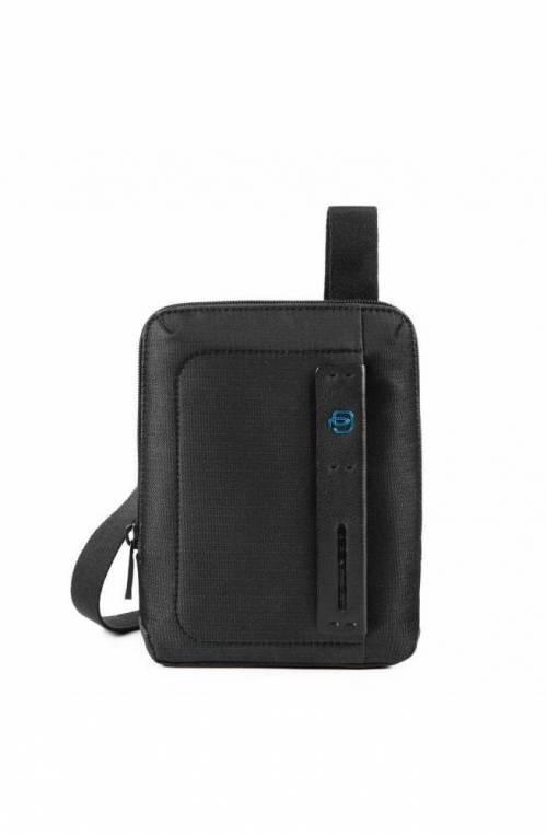 PIQUADRO Bag P16 Male Pocketbook chevron/Black - CA3084P16-CHEVN