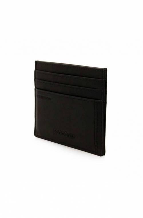 SAMSONITE Cardholder Male Black Leather - CT8-09732