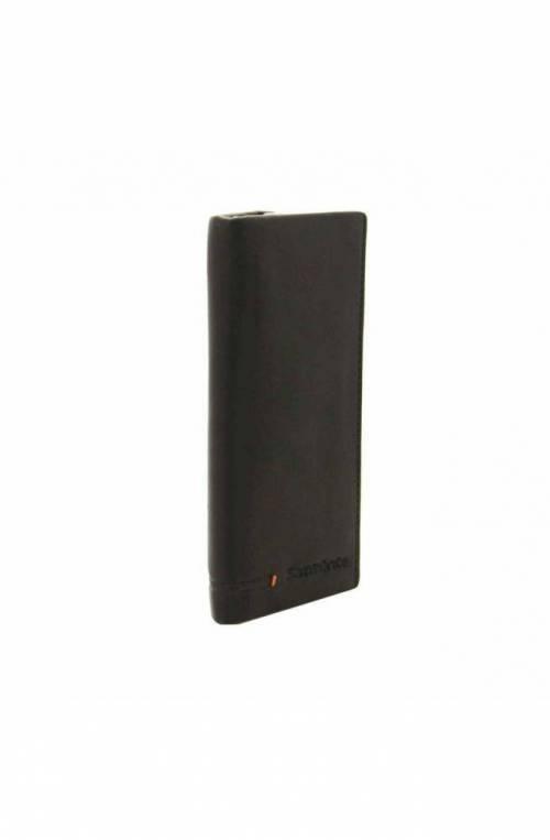 SAMSONITE Keyrings SIMPLA Black Leather Unisex - KE8-09507