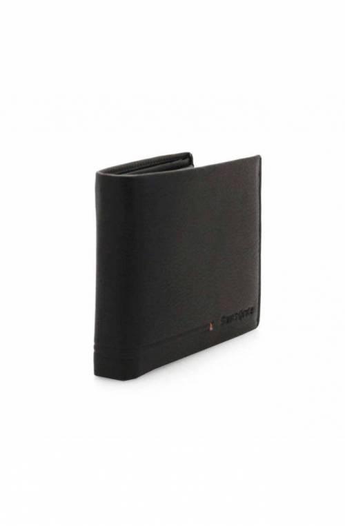 SAMSONITE Wallet SIMPLA SLG Male Leather Black - KE8-09021