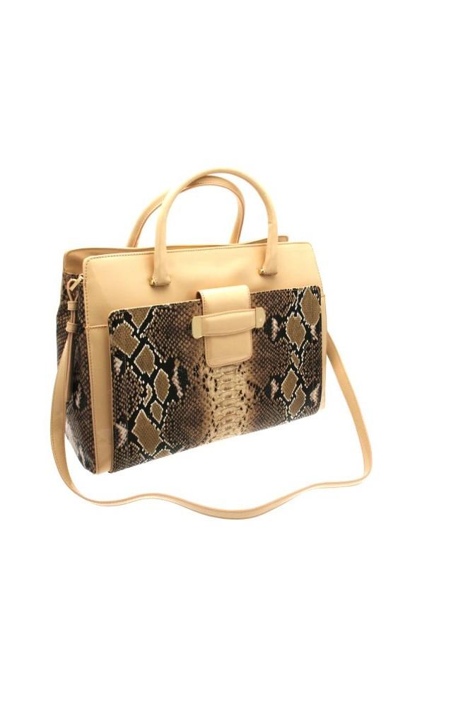 Studio POLLINI Bag Female beige nude snake - sc4503pp1ksc160a