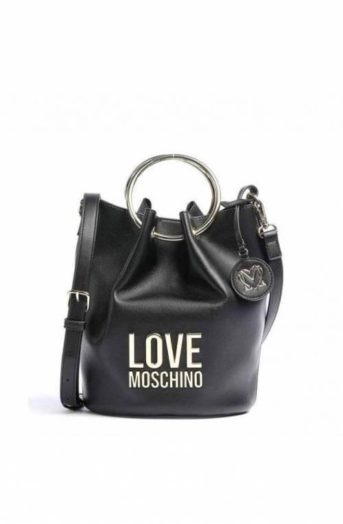 LOVE MOSCHINO Bolsa BONDED Mujer Negro - JC4105PP1CLJ000A