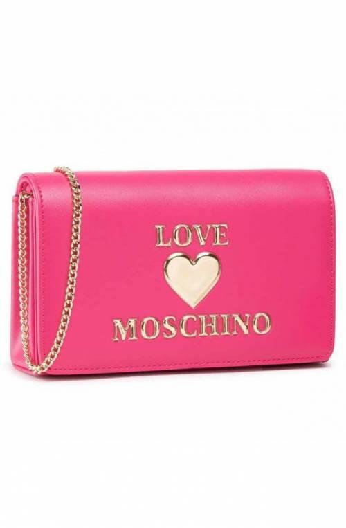 LOVE MOSCHINO Bolsa Mujer Fuchsia - JC4083PP1CLF0604
