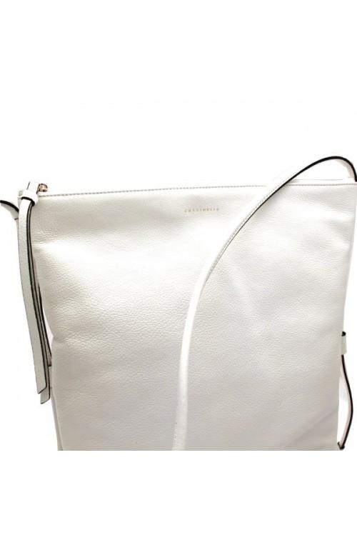 COCCINELLE Tasche Brenda Damen Weiss - c1sm5150201010