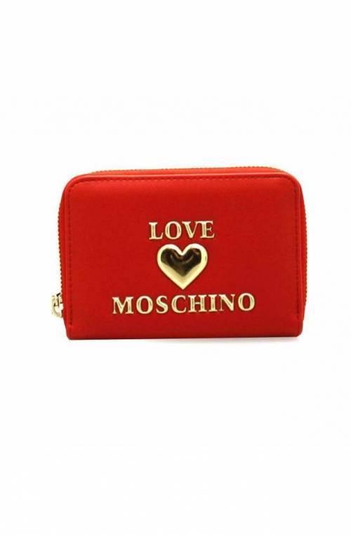 LOVE MOSCHINO Geldbörse Damen Rot - JC5621PP1CLF0500