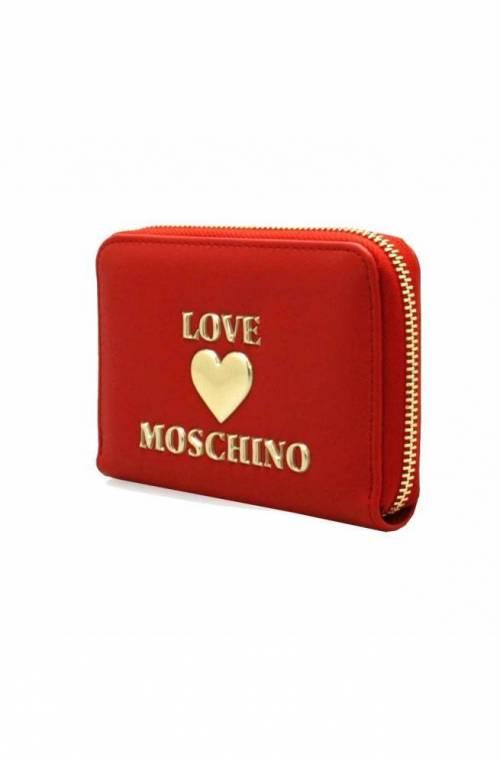 Portafoglio LOVE MOSCHINO Donna Rosso - JC5621PP1CLF0500