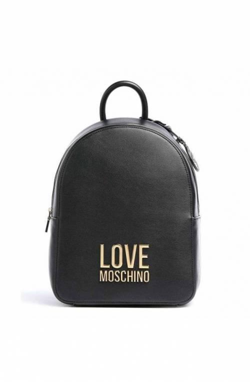 LOVE MOSCHINO Rucksack BONDED Damen Schwarz - JC4109PP1CLJ000A