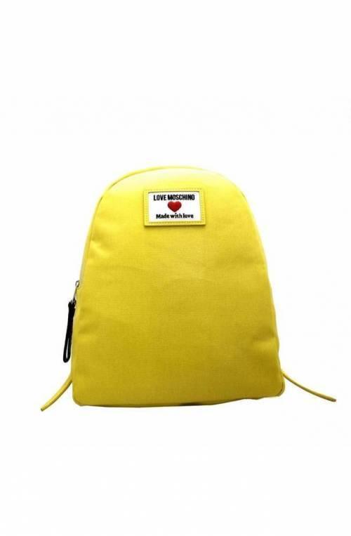 LOVE MOSCHINO Rucksack Damen gelb - JC4031PP1CLC140A