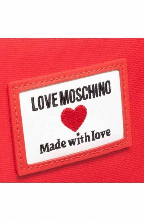 LOVE MOSCHINO Rucksack Damen rot - JC4031PP1CLC150A