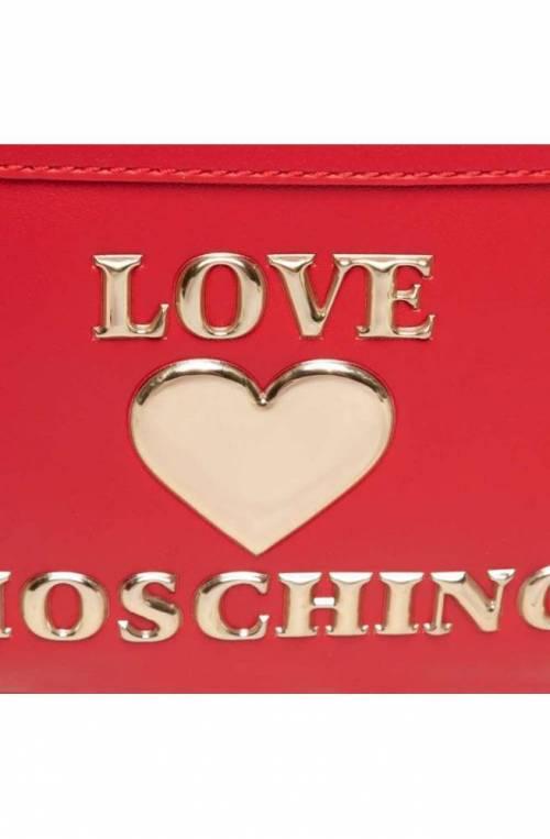 LOVE MOSCHINO Rucksack Damen Rot - JC4060PP1CLF0500