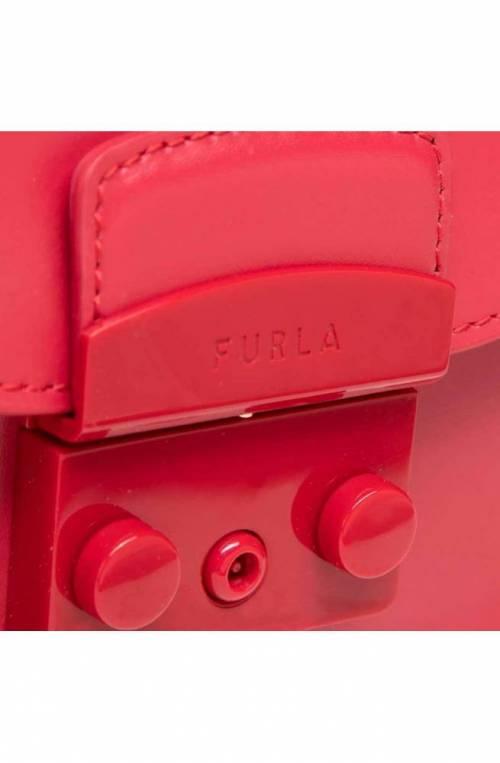 FURLA Bag METROPOLIS Female Leather Red - BATLEP0-VNC000-RUB00