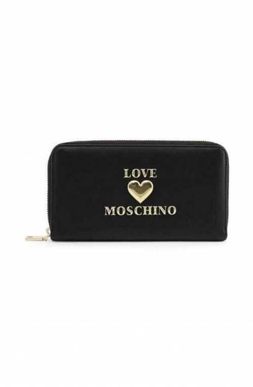 Portafoglio Love Moschino Donna Nero Jc5600pp1cla0000 Poppinsbags