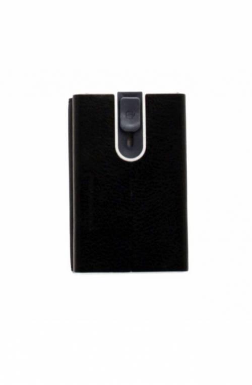 PIQUADRO porta tarjetas de crédito Compact wallet Hombre rojo - PP4891W92R-N
