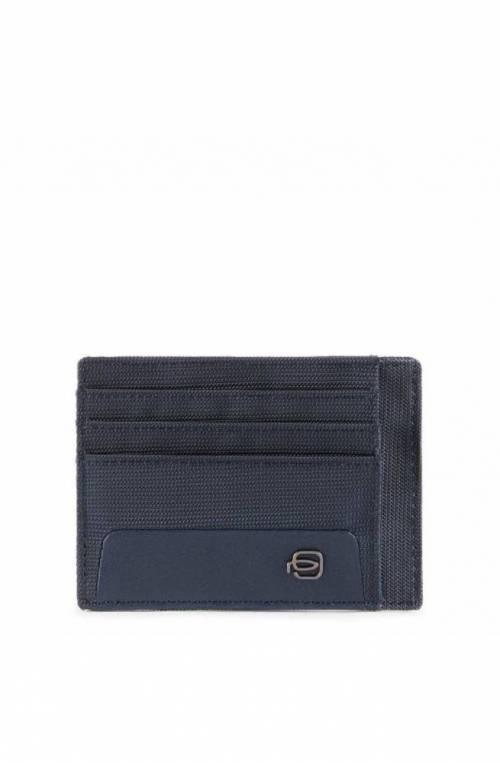 PIQUADRO Titular de la tarjeta RFID Hombre Azul - PP2762S115R-BLU