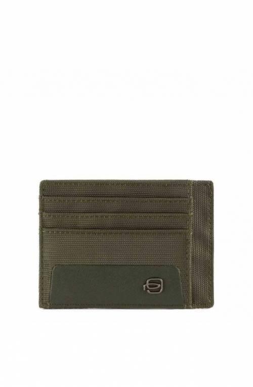 PIQUADRO Titular de la tarjeta RFID Hombre Verde - PP2762S115R-VE