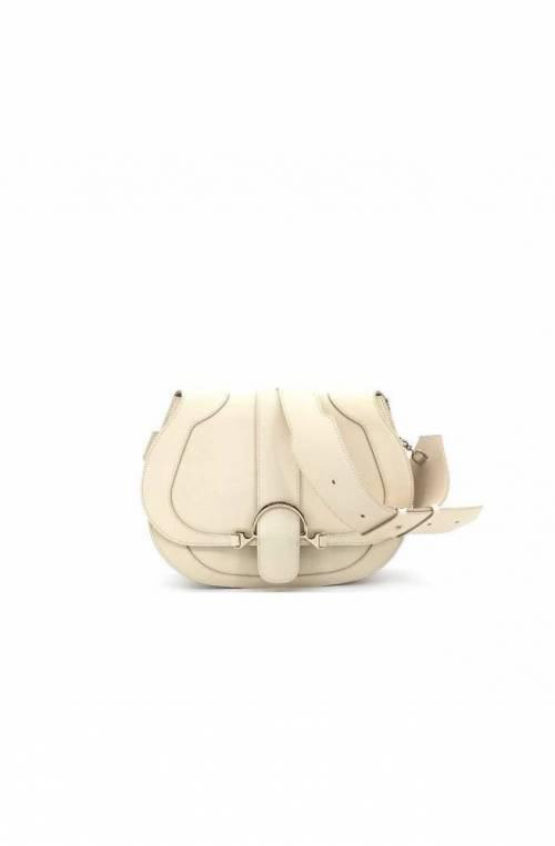 BORBONESE Tasche 110 SMALL Damen Leder Beige - 923441-I42-900