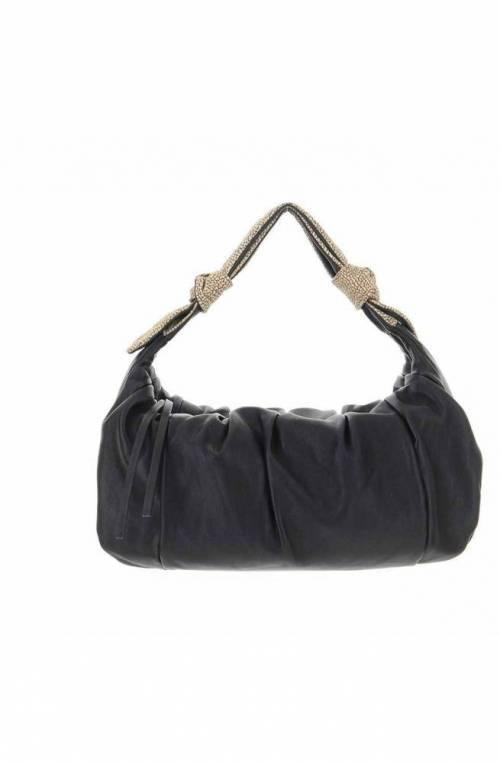 BORBONESE Tasche DUNA Damen Leder Schwarz - 933382-Q91-X80