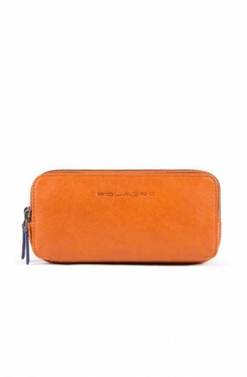 PIQUADRO Bag B2S Leather Orange - AC2141B2S-AR