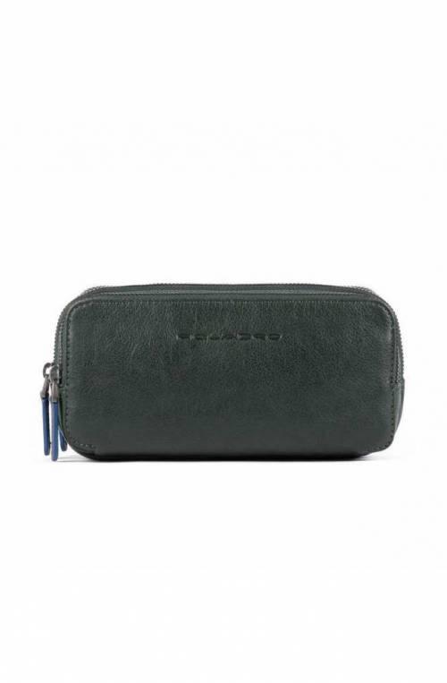 PIQUADRO Bag B2S Leather Green - AC2141B2S-VE