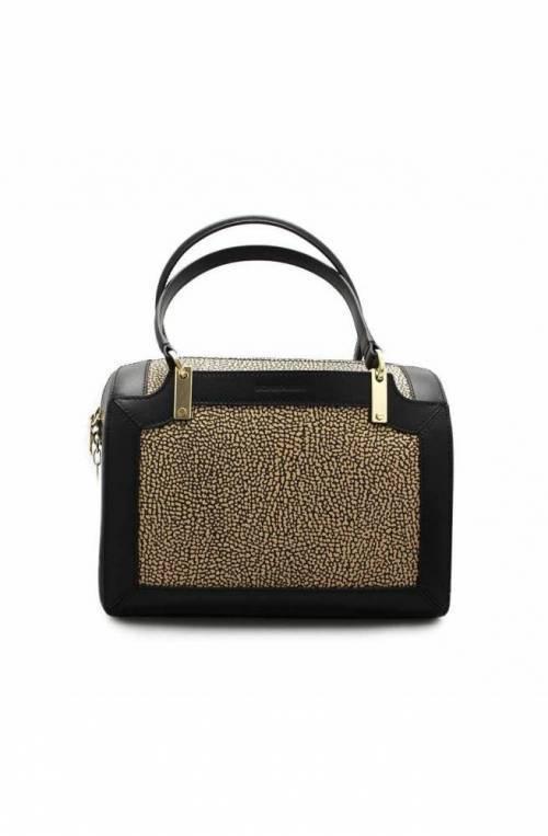 BORBONESE Bag Female Natural, Black - 903774-768-X11