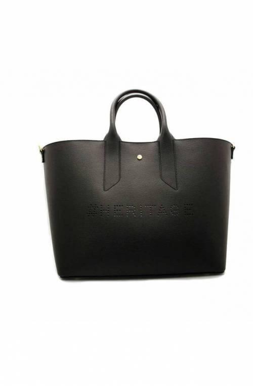 BORBONESE Bag Female Leather Black - 963708-H97-X80