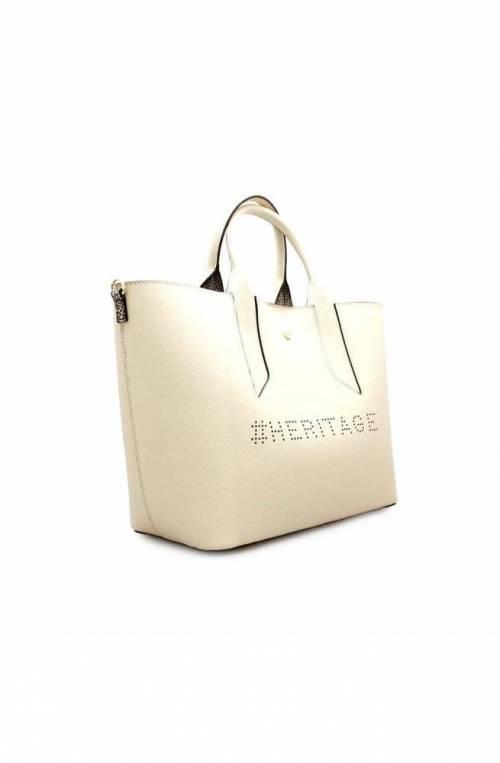 BORBONESE Bag HERITAGE Female Leather Beige - 963707-H97-945