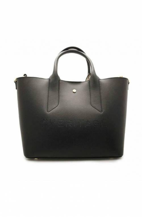 BORBONESE Bag HERITAGE Female Leather Black - 963707-H97-X80