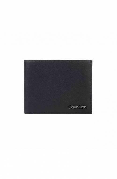 CALVIN KLEIN Wallet BIFOLD Male Leather Black - K50K506501BAX