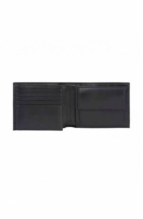 CALVIN KLEIN Wallet EUROPE Male Leather Black - K50K506913BAX