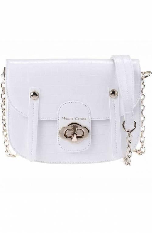 MANILA GRACE Tasche POPPY Damen Weiss - S1AB232EU-MA029