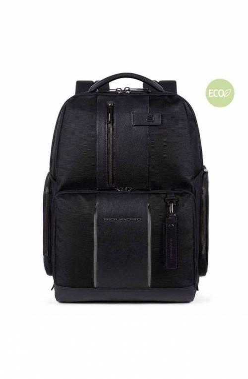 PIQUADRO Backpack Brief 2 Male led Black - CA4532BR2L-N