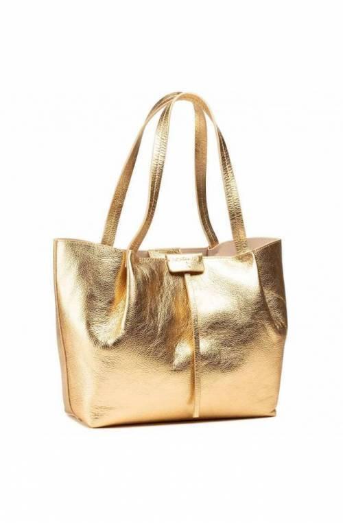Borsa PATRIZIA PEPE Donna shopping Pelle oro - 2V8895-A4U8N-Y360