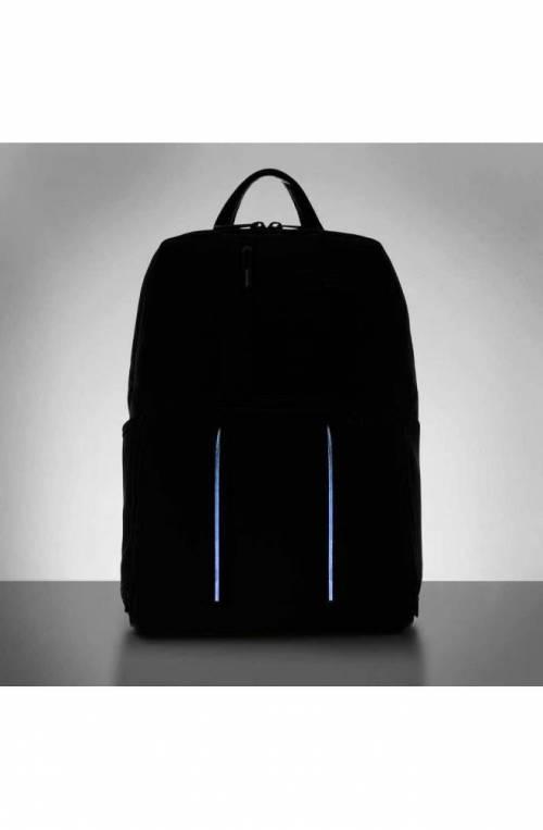 PIQUADRO Backpack Brief 2 Male Black LED CA3214BR2L-N