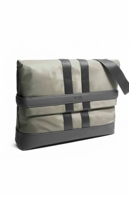 NAVA Tasche Uniform Unisex Messenger Schwarz grun - UF063NO