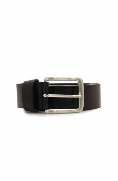 Cintura OFFICINE DEL CUOIO Uomo Pelle Nero - 001-40BLACK