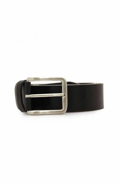 Cintura OFFICINE DEL CUOIO Uomo Pelle Nero - 001-40BLACK120