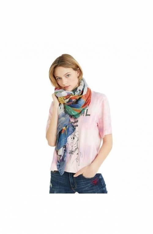 Foulard DESIGUAL ART PICTURE Donna Multicolore - 21SAWA365004U