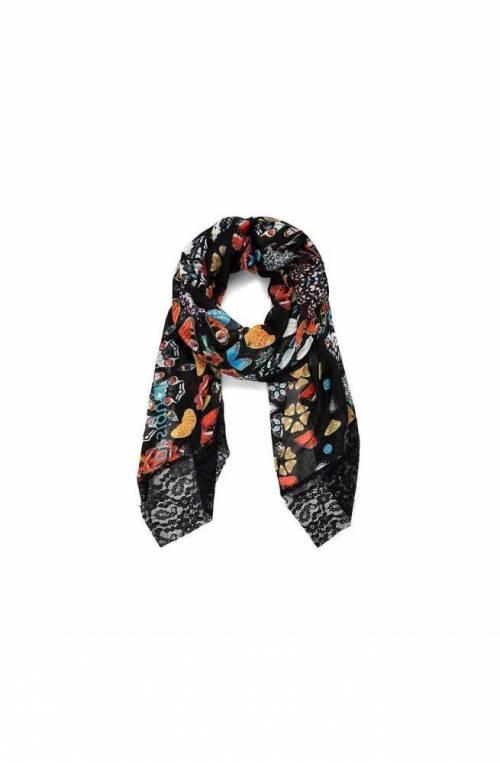 Foulard DESIGUAL BUTTERFLY GALACTIC Donna Multicolore - 21SAWA342000U